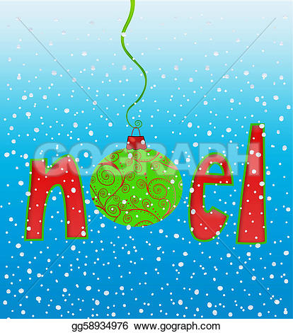 Word clipart noel Clipart snowflakes of in Stock
