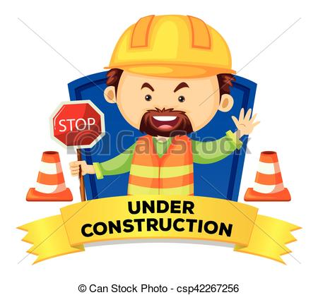 Word clipart occupation Occupation csp42267256 Construction Vector With
