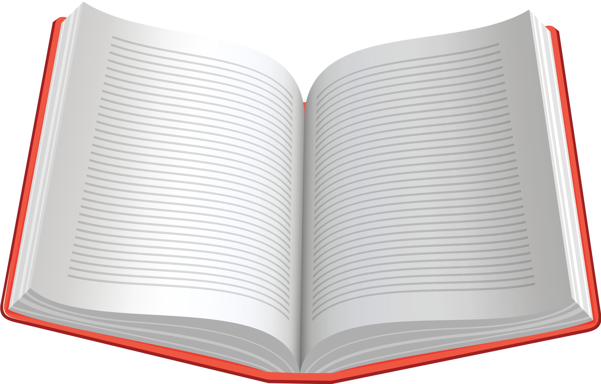 Book clipart open text Cliparts Cliparts Zone Book Word