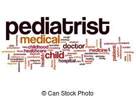 Word clipart pediatrician Stock  Paediatrician Pediatrist word