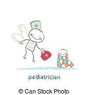 Word clipart pediatrician  Pediatrician child  Stock