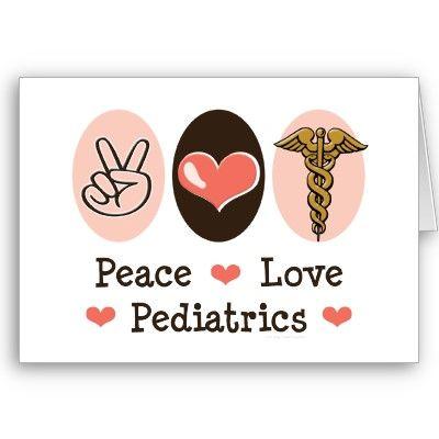 Word clipart pediatrician Card Peace images Love Pediatrics
