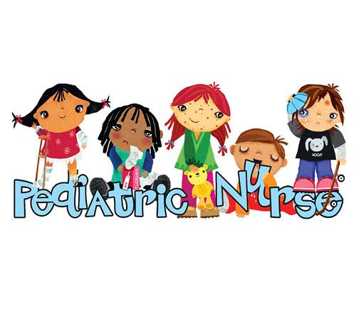 Word clipart pediatrician  Art Nurse Digital Clip