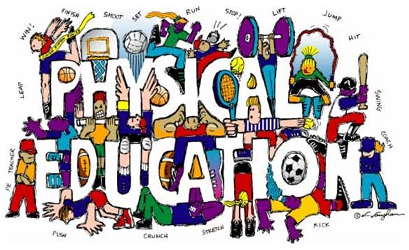 Word clipart physical education Pe Physical clipart clip collection