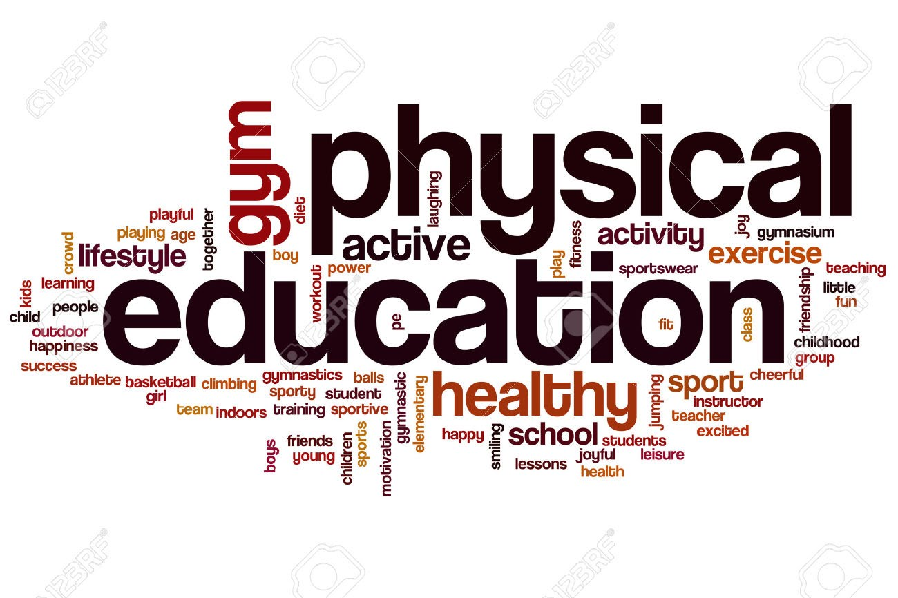 Word clipart physical education ERMS Education Physical Education Physical