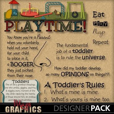 Playground clipart word Toddler wa WORD Art Playground