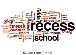 Word clipart recess Clipart Recess and cloud Recess