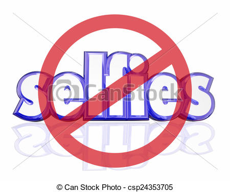 Word clipart selfie Word  Selfies Portraits Illustration