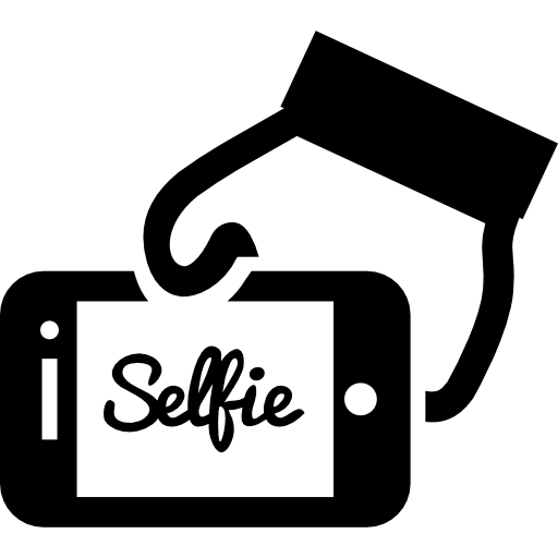 Word clipart selfie Free a icons phone icon