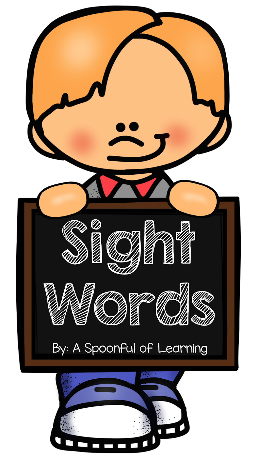 Word clipart sight word Promotes and teaching Helps Spoonful