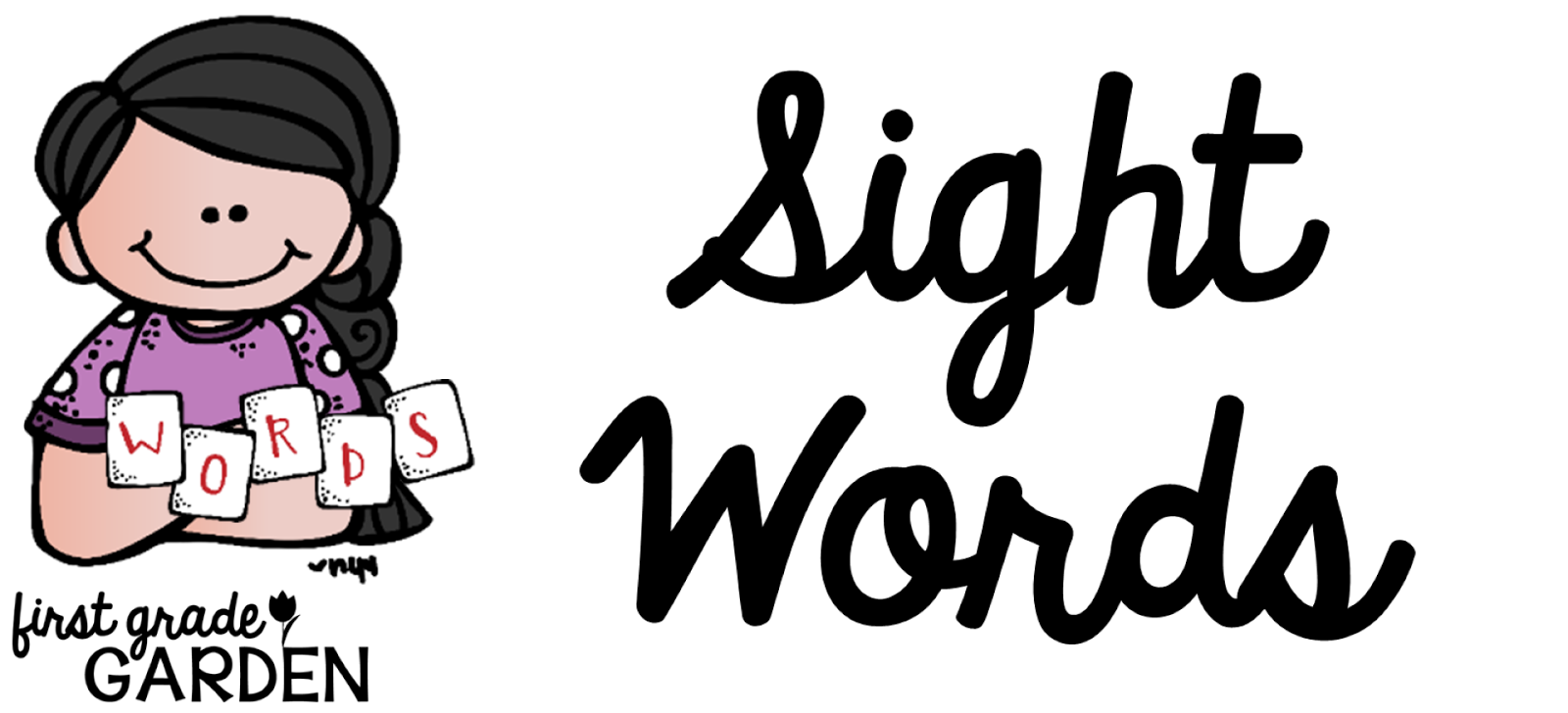 Word clipart sight word And Words Words and Grade