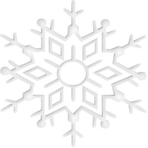 Word clipart snowflake Best Art with ClipartSnowflakesWord 27