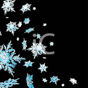 Word clipart snowflake Snowflakes Picture: Picture: Falling on