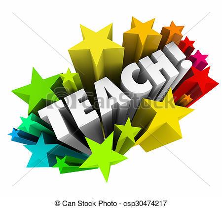 Word clipart teacher Word Professor  Learning Illustration