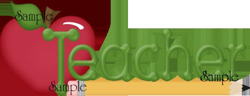 Word clipart teacher Word Images Info Panda Free