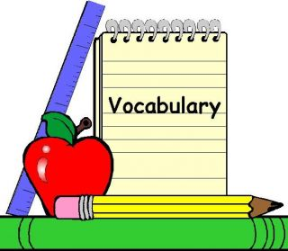 Word clipart vocabulary Articulate we vocabulary as will