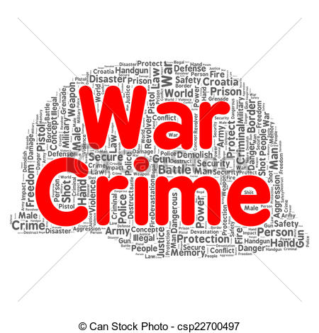 Word clipart war Illustration concept War Stock crime