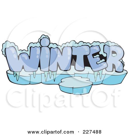 Word clipart winter Clip Art Begins Begins Art