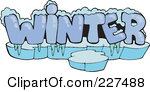 Word clipart winter Word Winter Word Clipart Clipart