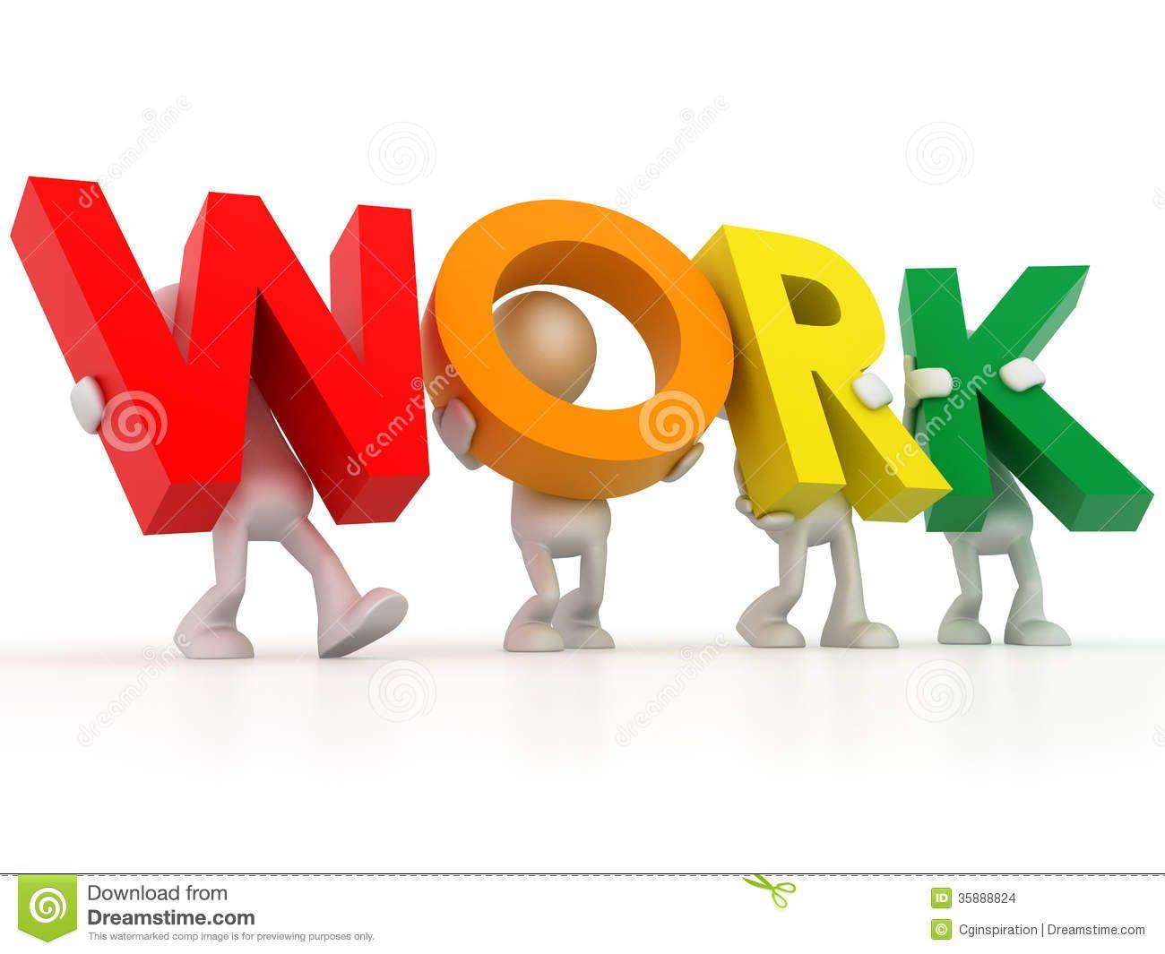 Word clipart word work Work Image: Word Clip Work