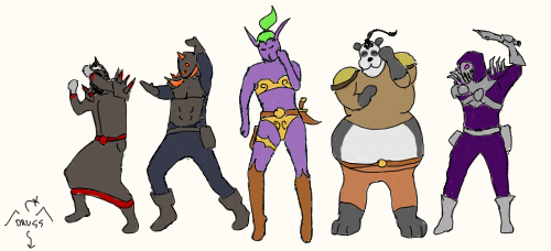 World Of Warcraft clipart animated Party dance by World on