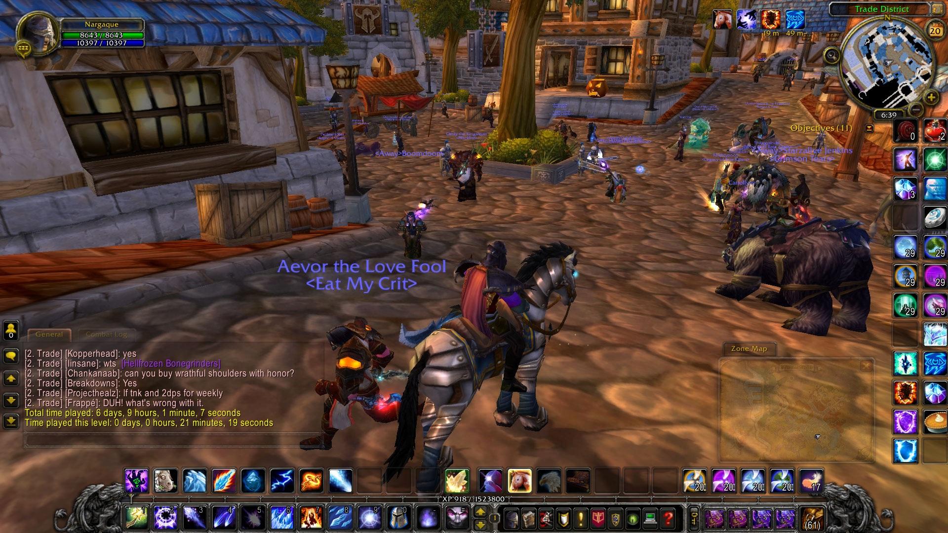World Of Warcraft clipart computer game A WoW Screenshot an End