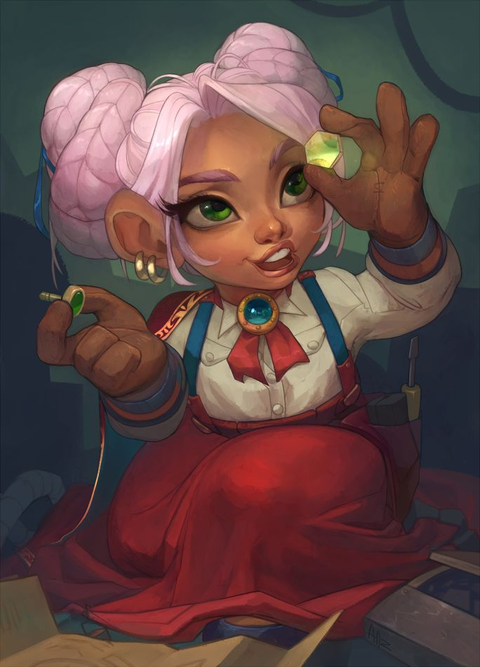 World Of Warcraft clipart female On Pin this Warcraft Gnomes