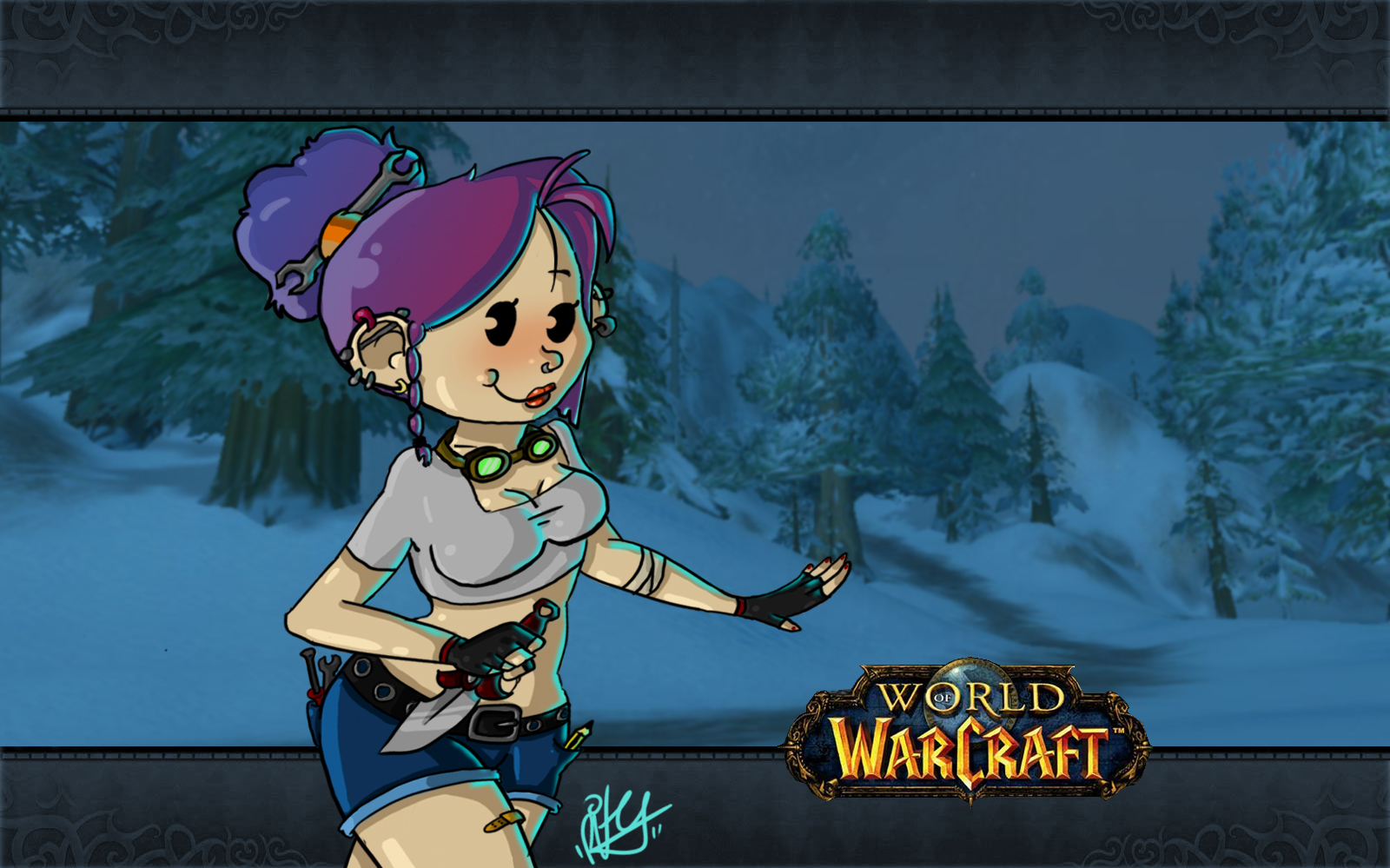 World Of Warcraft clipart female Girl Warcraft cool of Warcraft