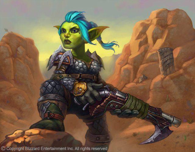 World Of Warcraft clipart female Warcraft Hunter Goblins Goblin ArtWorld