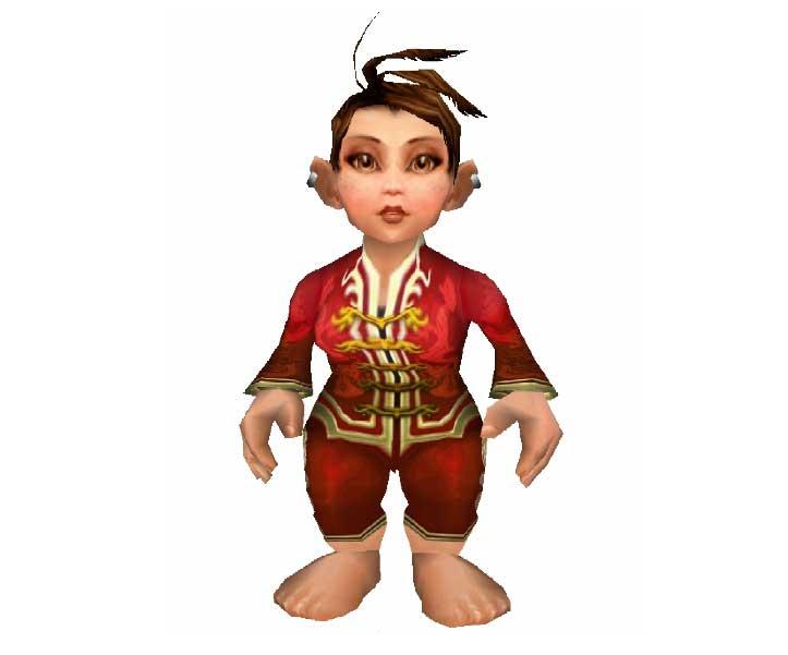 World Of Warcraft clipart female Dress) Warcraft Papercraft of Gnome