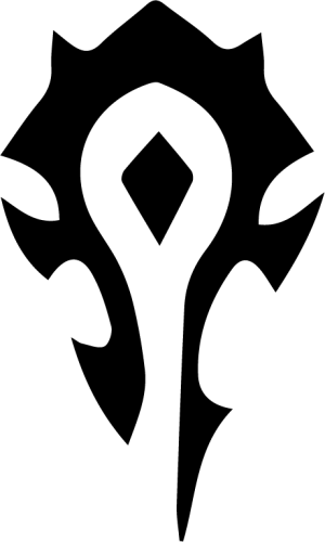 World Of Warcraft clipart horde The Horde Logo Of Logo