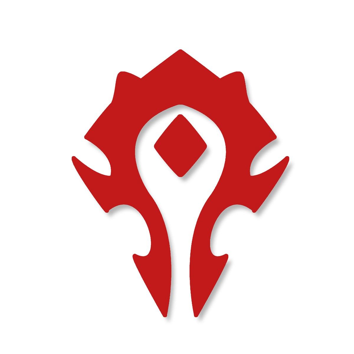 World Of Warcraft clipart horde Warcraft Stickers Cutout : Sticker