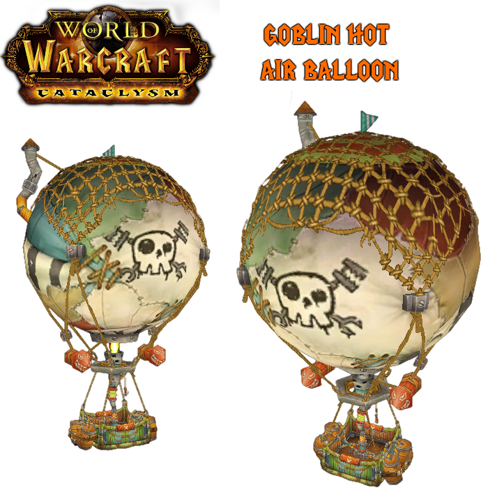 World Of Warcraft clipart hot Balloon Goblin by Hot WoW