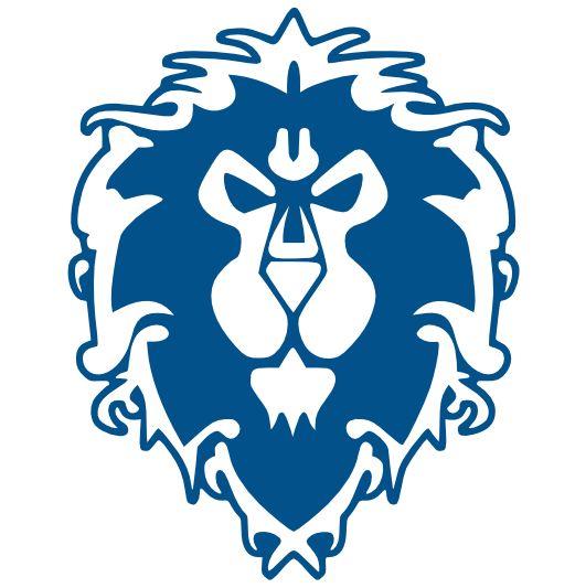 World Of Warcraft clipart logo Fandom Logos Pinterest Alliance images