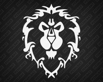 World Of Warcraft clipart logo ALLIANCE alliance Logo Car Laptop