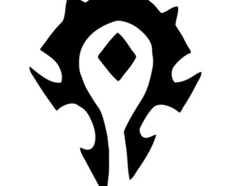 World Of Warcraft clipart logo Decal Gift World gift Warcraft
