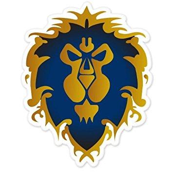 World Of Warcraft clipart logo WOW 5 bumper WOW World