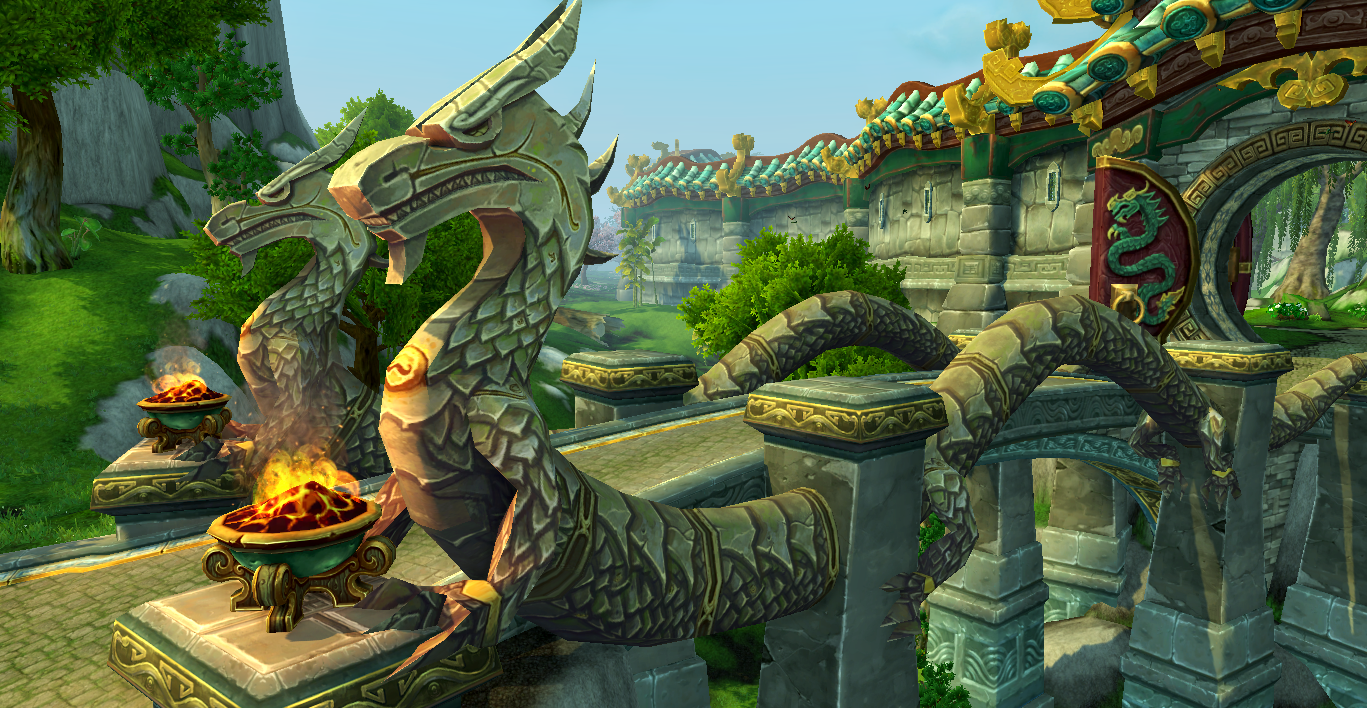 World Of Warcraft clipart minecraft The to dragons Lotus Temple