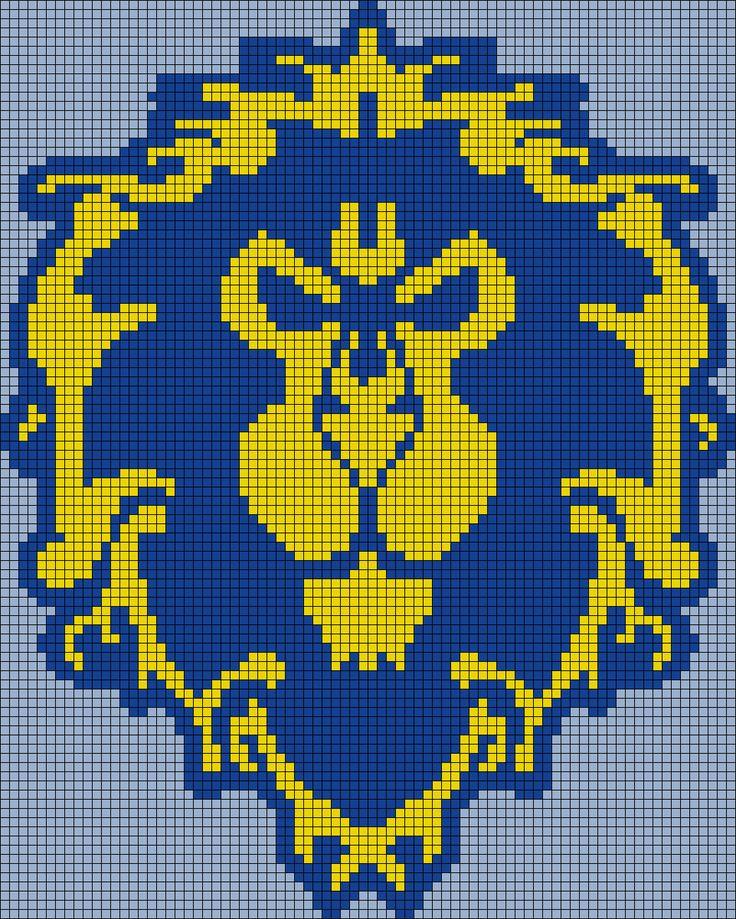 World Of Warcraft clipart pixel art Best Pattern World images Perler