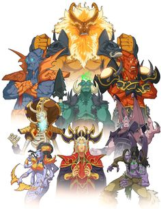 World Of Warcraft clipart word encouragement  de Illustration warcraft world