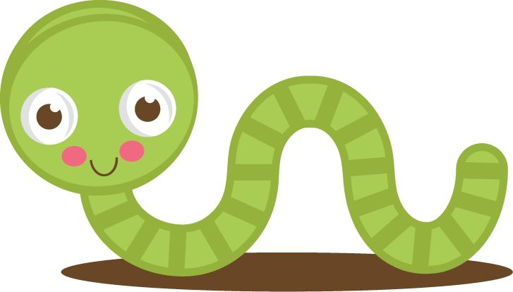 Worm clipart Inch collection clipart worms Clipart