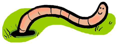Worm clipart green Free Panda Clipart Worm Clipart
