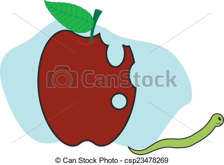 Worm clipart angry From Going Angry Apple from