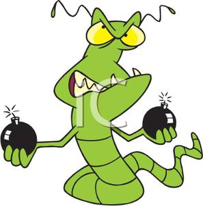 Worm clipart angry Worm Green Picture Its Worm