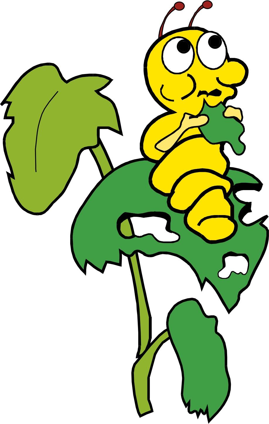 Caterpillar clipart silk #4