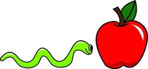 Worm clipart apple worm Apple Images Worm Worm Panda