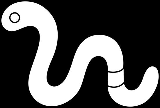 Color clipart worm Clipart Clipart And Clipart White