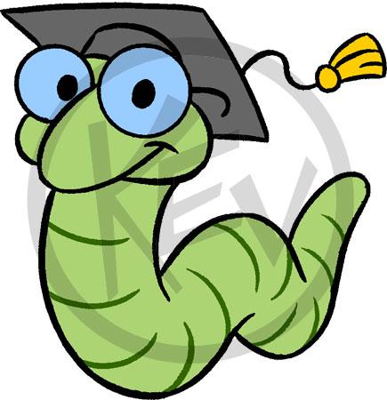 Worm clipart bookworm Book bookworm Images clip bookworm