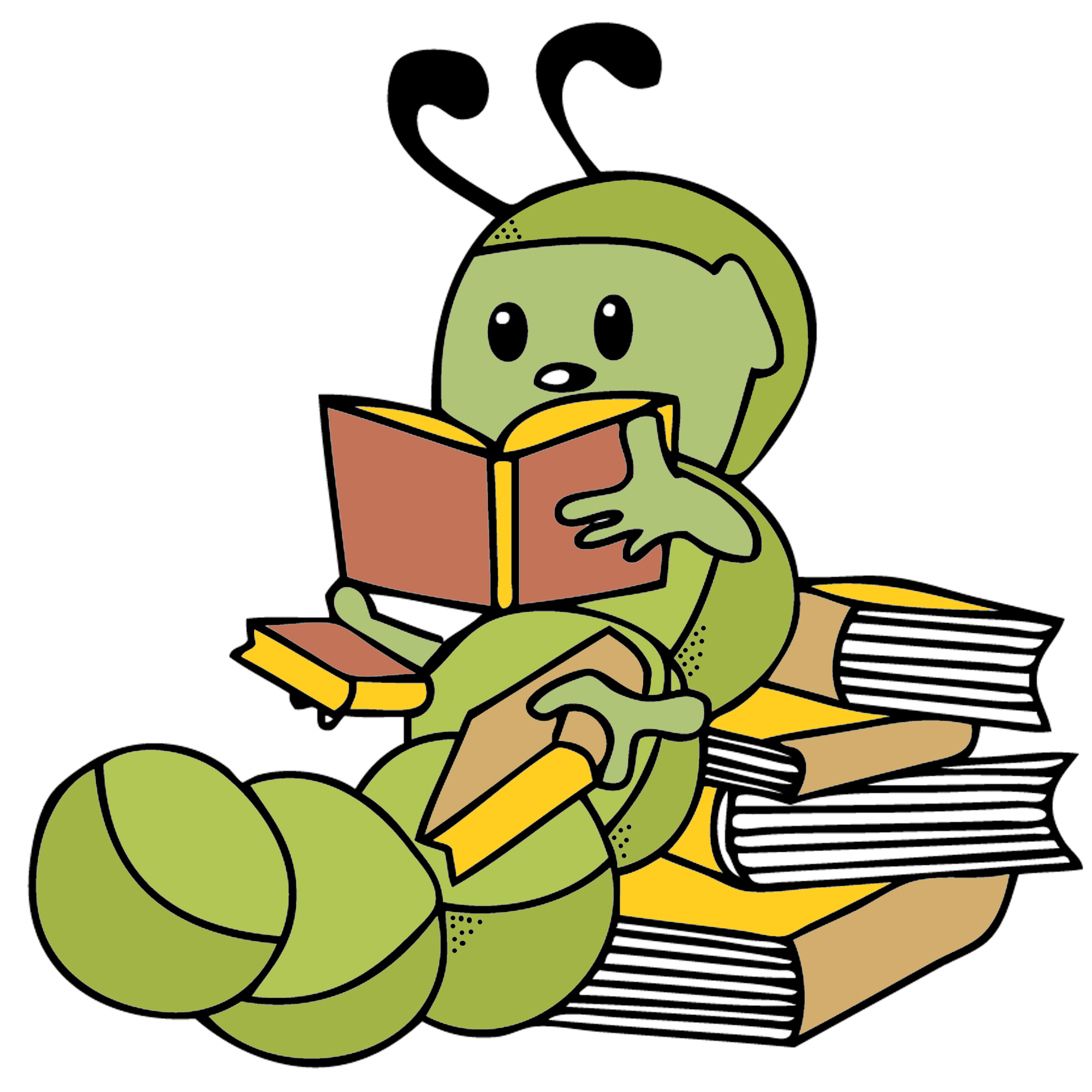Worm clipart bookworm Bookworm images Free worm Clipart