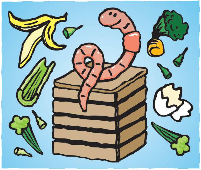 Worm clipart compost heap Easy Agro You cool Investigations